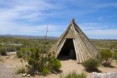 Native American shelter - teepee