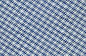 Close up real gridded fabric.