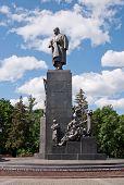 Постер, плакат: Памятник Тарасу Шевченко в Харькове Украина