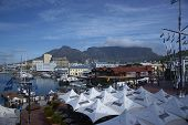 Harbour Area of Cape Town