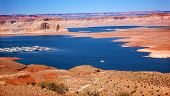 Arizona de área de recreación Marina Wahweap Bay Lake Powell Glen Canyon