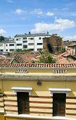 Arquitectura casco tejados La Candelaria Bogota Colombia