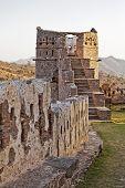 Evening Glow Kumbhalgarth  Fort Tower Rajasthan India