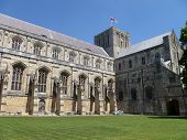 Winchester Cathedral England.