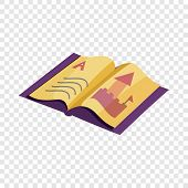Abc Book Icon. Cartoon Illustration Of Abc Book Vector Icon For Web poster