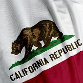 California Flag Closeup