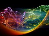 Digital Light Wave poster