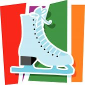 Ice Skate Graphic