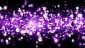 Background With Magenta Glitter Particles. Beautiful Holiday Purple Background Template For Premium  poster
