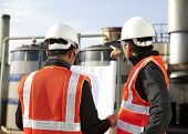 Two Engineer Oil Industry