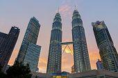 foto of petronas towers  - KUALA LUMPUR  - JPG