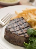 Fillet Steak Frite And Watercress