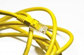 Yellow Internet Cable