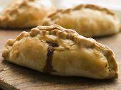 Tradicionais pastéis Cornish