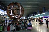 El aeropuerto de Fiumicino de Roma
