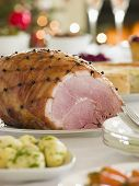 Honey Roasted Ham Boxing Day Buffet
