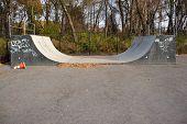 Skate Park Halfpipe