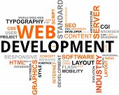 Word Cloud - Webdevelopment
