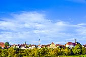 Panorama Of Rothenburg Ob Der Tauber