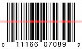 Barcode Scanning On White