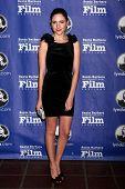 SANTA BARBARA - JAN 24:  Haley Ramm arrives at the Santa Barbara International Film Festival