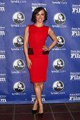 SANTA BARBARA - JAN 24:  Karina Smirnoff arrives at the Santa Barbara International Film Festival