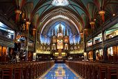 picture of church  - MONTREAL - JPG