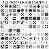 picture of decorative  - Set of vector geometric - JPG