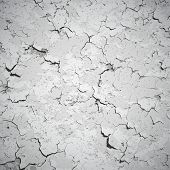 Vector Background - Wall Covered With Cracks