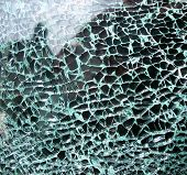 Glass Cracked