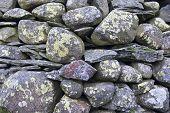 Dry stone wall, Cumbria, UK
