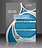 Global Business Flyer Design