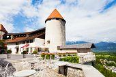Bled Castle Inner Yard