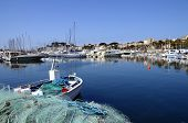Marina Of Bandol In France