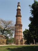 Brick Minaret Qutb Minar