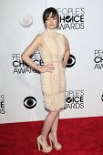 LOS ANGELES - JAN 8: Ashley Rickards at The People's Choice Awards at the Nokia Theater L.A. Live on