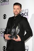 LOS ANGELES - JAN 8: Justin Timberlake at The People's Choice Awards at the Nokia Theater L.A. Live