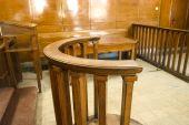 Court Bench Close-up