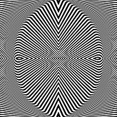 Abstract op art backdrop. Vector art.