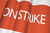 On Strike Flag Concept