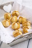german marzipan christmas pastry