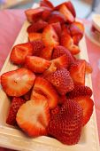 Strawberries - vertical