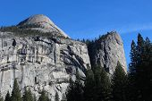 North Dome Landscape Yosemite California