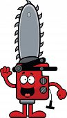 Cartoon Chainsaw Happy