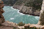Stretch Of Coast In Portugal