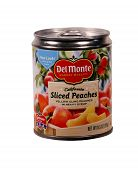 Can Of Del Monte Sliced Peaches