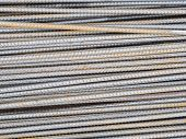 pic of reinforcing  - reinforce steel rod texture background - JPG
