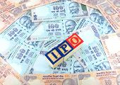 IPO Blocks on Indian Rupees