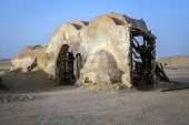 Movie Star Wars In The Sahara Desert
