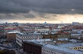 St. Petersburg. View From The Colonnade Of St. Isaac's Cathedral. Russia
